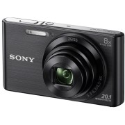SONY DSC-W830B - Digitalkamera, 20,1 MP, 8-fach Zoom, schwarz