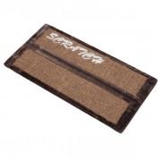 Scratchboard Rockefeller brown corner