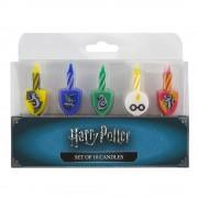 Lumanari aniversare pentru tort Harry Potter Set 10 Buc
