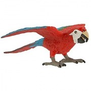 Safari Ltd Wings of the World - Green-Winged Macaw - Realistic Hand Painted Toy Figurine Model - Quality Construction fr
