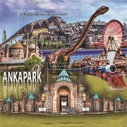 Turkey 2017 Ankapark Dinosaur Toy Train Amusement Park