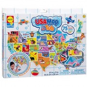 ALEX Toys Rub a Dub USA Map in the Tub