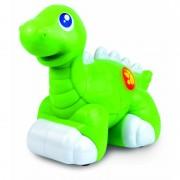 Jucarie interactiva Dinozaur prietenos Verde Little Learner