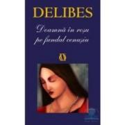 Doamna in rosu pe fundal cenusiu - Delibes