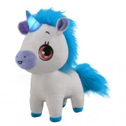 Jay At Play - Jucarie Interactiva din Plus Wish Me Unicorn Alb cu Albastru