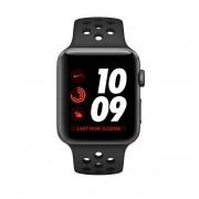 Apple Watch Series 3 Aluminiumgehäuse grau 38mm mit Nike Sportarmband