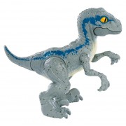 Figurina Jurassic World Hatchlings Velociraptor Blue in ou
