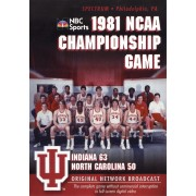 1981 NCAA Championship: Indiana vs. UNC [DVD] [2005]