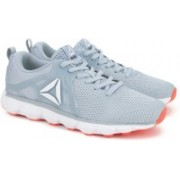 Reebok HEXAFFECT RUN 5.0 MTM Running Shoes(Grey, White, Black)