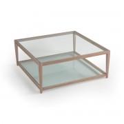 """AM.PM Flacher Tisch """"Junon"""", Tischplatte Glas"""