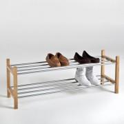 La Redoute Стеллаж для обуви из металла и бамбука, BAMBOO