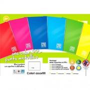 Blasetti Quaderno Maxi A4 One Color Rigatura 1R Colori Assortiti