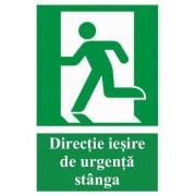 Directie de Iesire Urgenta Stanga- A5 - M 1