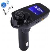 T11 Bluetooth FM-zender Auto MP3-speler met LED-display, Ondersteuning voor dubbele USB Charge & Handsfree & TF-kaart & U Disk Muziek Play-functie