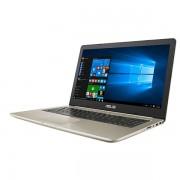 "NB Asus VivoBook N580VD-FY375T, zlatna, Intel Core i7 7700HQ 2.8GHz, 256GB SSD, 8GB, 15.6"" 1920x1080, nVidia Geforce GTX 1050 4GB, Windows 10 Home, 24mj, (90NB0FL1-M08790)"