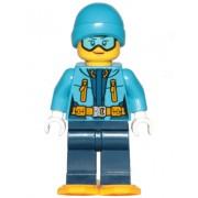 cty0906 Minifigurina LEGO City-Explorator arctic fata cty0906