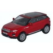 Land Rover Range Rover Evoque, red, RHD, 0, Model Car, Ready-made, Oxford 1:76