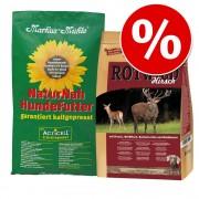 2 x 5 кг! 10 кг Markus-Mühle смесена опаковка на специална цена! - Микс: NaturNah & Благороден елен