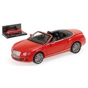 Bentley Continental Gt Speed Diecast Model Car In 1:43 Scale By Minichamps