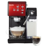 Espressor Manual cu Lapte Prima Latte II Red Breville