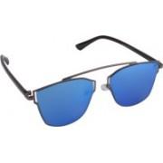 Aligatorr Rectangular Sunglasses(Blue)