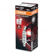 Izzó 12V/55W/H1 1db/+100% Osram Night Breaker Silver 64150NBS