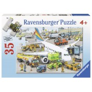 PUZZLE AEROPORT OCUPAT, 35 PIESE - RAVENSBURGER (RVSPC08603)