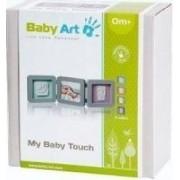 Baby Art - Double Print Frame Grey. Set de amprenta cu rama de poza - Gri