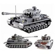Arundel Services EU Mini Figures German Tank Ww2 Building Bricks War Army Minifigures Soldier Blocks Lego Compatible