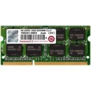 Memorie Laptop Transcend TS256MSK64V1N DDR3, 1x4GB, 1333MHz, CL9, 1.35V