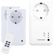 Set controler, 2 prize inteligente wireless si telecomanda, interior, 433 MHz, 2,4 GHz, Smartwares SH5-SET-GW