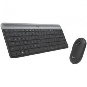 Logitech MK470 Slim Wireless Keyboard and Mouse Combo (Black)