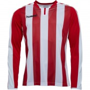 Hummel Striped Match Jersey II True Red/White