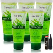 Nutriglow Neem Tulsi Face Wash (Pack Of 5)