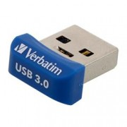 Verbatim NANO Memoria USB 3.0 64GB Blu