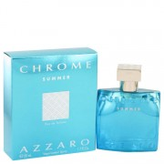 Azzaro Chrome Summer Eau De Toilette Spray 1.7 oz / 50.27 mL Men's Fragrance 516440
