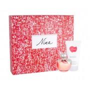 Nina Ricci Nina 50Ml Edt 50 Ml + Body Lotion 75 Ml Per Donna (Eau De Toilette)