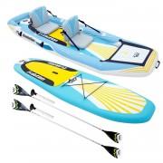 AQUA MARINA Stand Up Paddle/Kayak gonflable 2-en-1 EVOLUTION et ses accessoires