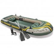Intex Seahawk 4 Conjunto barco insuflável com remos e bomba 68351NP