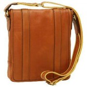 OLD ANGLER Sacoche Bandoulière Cuir Italien Homme -Old Angler-