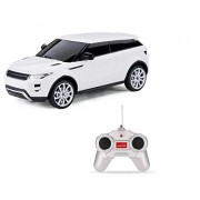 Rastar 1:24 Range Rover Evoque Remote Control Car, with Lights, White, TOYSHINE - 28