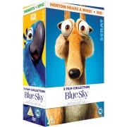 20th Century Fox Blue Sky - Colección de 8 Películas: Ice Age 1-4 / Rio / Horton / Robots / Epic. El Mundo Secreto