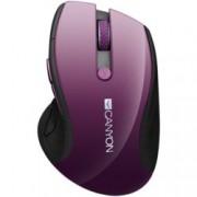 Мишка Canyon CNS-CMSW01P, оптична(1600 dpi), безжична, USB, лилава