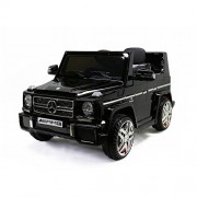 Licensed Kids Ride on Powered Car 12V with Remote Control Mercedes-Benz G65, Black