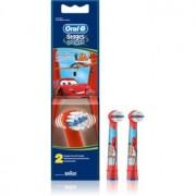 Oral B Stages Power EB10 Cars cabeças de reposição para escova de dentes 2 pçs Extra Soft