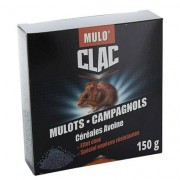 PROTECTA MULO'CLAC Céréales au Bromadiolone - Mulots - Campagnols 150 g