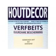 Hermadix Houtdecor verfbeits Gebroken Wit dekkend