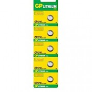 Gp Batteries Blister 5 Batterie Litio a Bottone CR1216