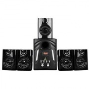 Black Cat MS300 With Bluetooth Speaker with USB FM Radio 5.1 Speaker System