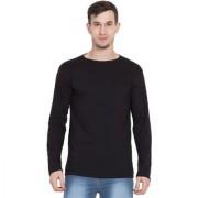 Cliths Black full sleeves Tshirt for Men Premium Cotton Round Neck Tshirts